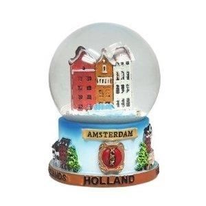 Typisch Hollands Sneeuwbol Amsterdam Klein