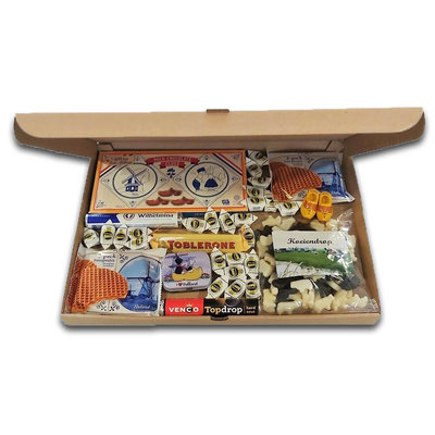 www.typisch-hollands-geschenkpakket.nl Letterbox gift -XL Box- Dutch delicacies
