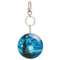 Typisch Hollands Sleutelhanger Sterrennacht - Vincent van Gogh