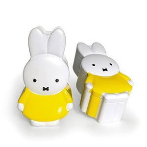 Nijntje (c) Miffy storage tin - Miffy yellow (3d tin)