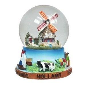 Typisch Hollands Sneeuwbol Holland - Molen - Klein