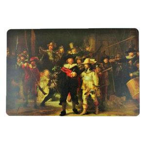 Typisch Hollands Placemat Rembrandt De Nachtwacht