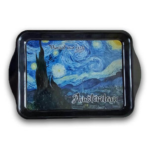 Typisch Hollands Mini Tray by Vincent van Gogh - Starry Night