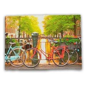 Typisch Hollands Magische vouwkaart - Fietsen - Amsterdam
