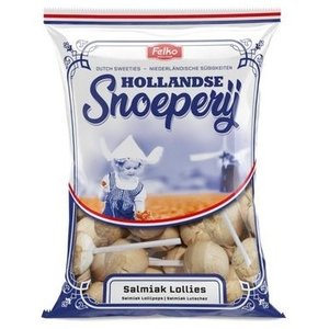 Felko Hollands snoepgoed - Salmiak lolly`s