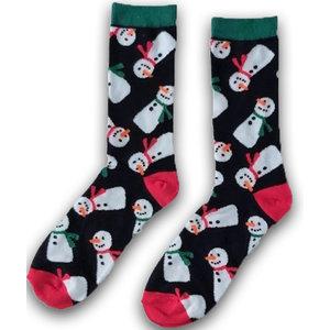 Holland sokken Foute Kerst-sokken (heren) Zwart - Frosty