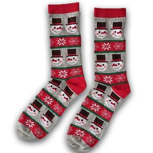 Holland sokken Foute Kerst-sokken (heren) Grijs - Frosty