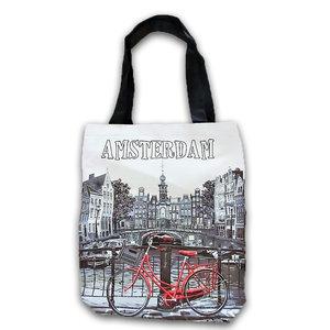 Typisch Hollands Shopping bag - Amsterdam - Westertoren- by day.