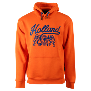 Holland fashion Orange Holland Hoodie - Lions (blue accents)