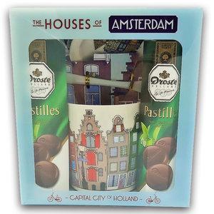 Droste Droste Giftbox - Houses - Mint Chocoladepastilles