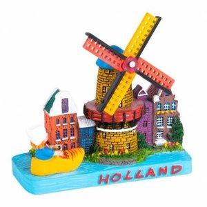 Typisch Hollands Holland tafereel Stadsmolen