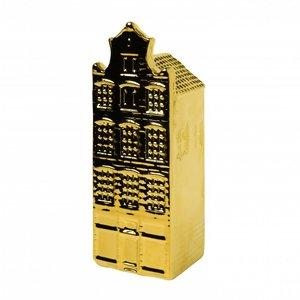 Heinen Delftware Gouden huisje - Halsgevel