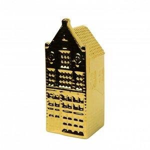 Heinen Delftware Gouden huisje - Tuitgevel