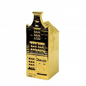 Heinen Delftware Gouden huisje - Klokgevel