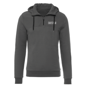 Holland fashion Hooded sweater with half zip - Skipper