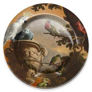 Typisch Hollands Plate Hondecoeter Menagerie Ø 26 cm in gift box