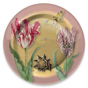 Typisch Hollands Plate Marrel Tulips Ø 26 cm in gift box