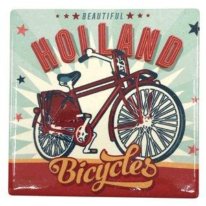 Typisch Hollands Coaster - Bicycle - Vintage - Holland