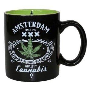 Typisch Hollands Mug Amsterdam - Cannabis in Giftbox