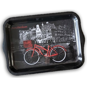 Typisch Hollands Tray large bicycle - Black-Red