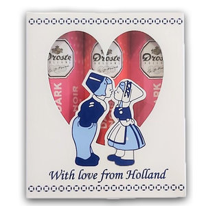 Droste Gift set -With love - from Holland