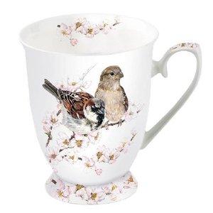 Typisch Hollands Mug - Porcelain - Dutch house sparrows