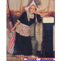 Typisch Hollands Traditionelles Mädchen Holland