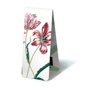 Typisch Hollands Magnetische Boekenlegger, Drie tulpen, M.S. Merian