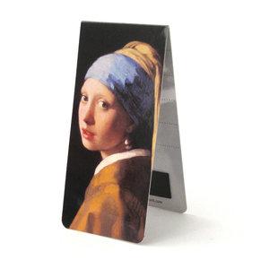 Typisch Hollands Magnetische boekenlegger -Vermeer-Meisje met de parel