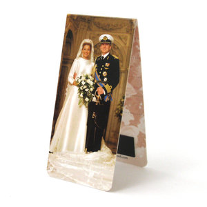 Typisch Hollands Magnetic bookmark - Royal family NL