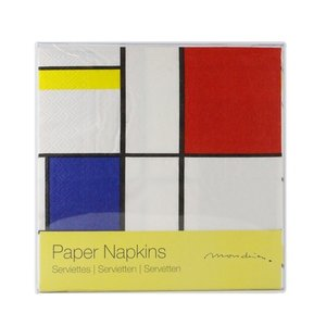 Typisch Hollands Luxury Napkins - Mondrian
