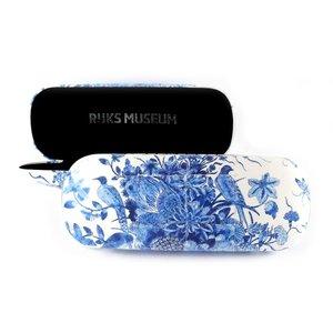 Typisch Hollands Brillenkoker - Delfts blauw - Pauw