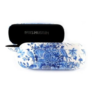 Typisch Hollands Glasses case - Delft blue - Peacock