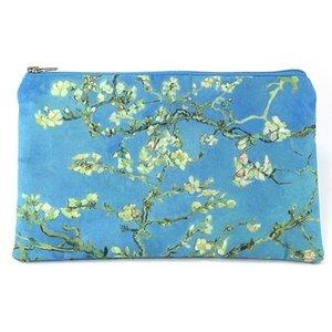 Typisch Hollands Case - van Gogh make-up bag - Almond blossom