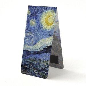 Typisch Hollands Magnetic bookmark, Van Gogh Starry Night