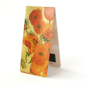 Typisch Hollands Magnetic Bookmark, V. Gogh, Sunflowers