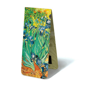 Typisch Hollands Magnetic Bookmark, Irises, Van Gogh