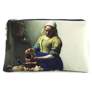 Typisch Hollands Case - make-up bag the Milkmaid - Vermeer