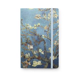 Typisch Hollands Notitieboekje - Softcover  - Amandelbloesem - van Gogh