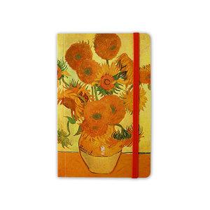 Typisch Hollands Notitieboekje - Softcover  - Zonnebloemen - van Gogh