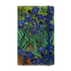Typisch Hollands Notitieboekje - Softcover  - Irissen - van Gogh