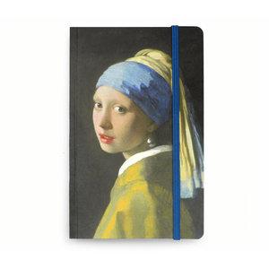 Typisch Hollands Notitieboekje - Softcover  - het meisje met de parel