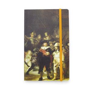 Typisch Hollands Notitieboekje - Softcover  - de Nachtwacht