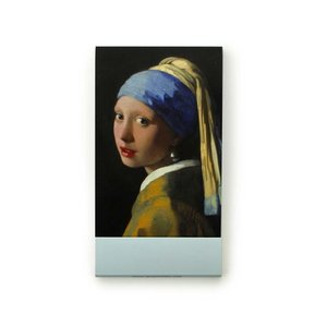 Typisch Hollands Notitieboekje - Zakformaat - het meisje met de parel