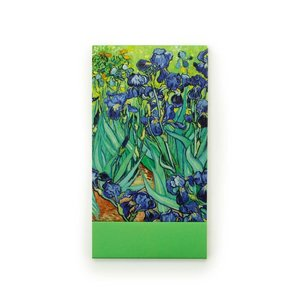 Typisch Hollands Notitieboekje - Zakformaat - Irissen - van Gogh