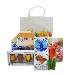 www.typisch-hollands-geschenkpakket.nl Hollands geschenkpakket - thema Tulpen