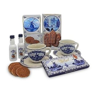van Meers Holland gift package 2 x cup and saucer