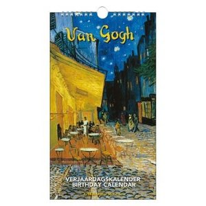 Typisch Hollands Verjaardagskalender - Vincent van Gogh