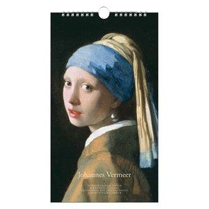 Typisch Hollands Birthday calendar - Johannes Vermeer