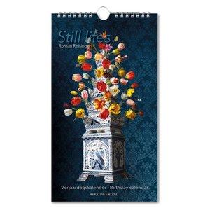 Typisch Hollands Verjaardagskalender -Stillevens - Tulpen (bloemen)